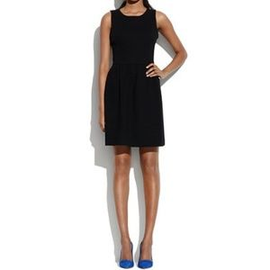 "Madewell ""Afternoon"" Black Skater Dress"